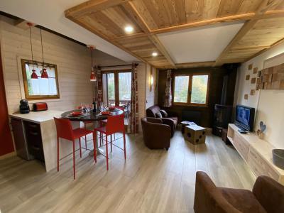 Vacances en montagne Appartement 3 pièces 4 personnes (GOLF) - Chalet le Col du Dôme - Chamonix - Séjour