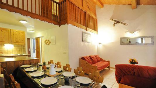 Vacances en montagne Appartement duplex 4 pièces 10 personnes (3) - Chalet le Cristal - Les Menuires - Séjour