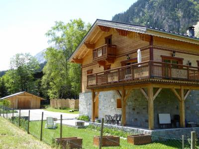 Rent in ski resort Chalet le Flocon - Pralognan-la-Vanoise - Summer outside