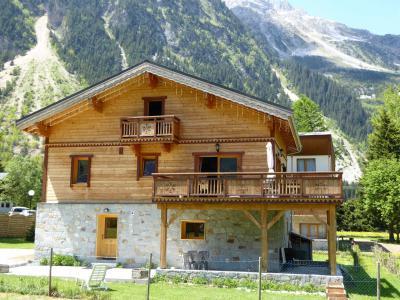 Rent in ski resort Chalet le Flocon - Pralognan-la-Vanoise - Summer outside
