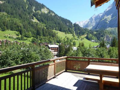 Rent in ski resort 6 room mezzanine apartment 10 people - Chalet le Flocon - Pralognan-la-Vanoise - Summer outside