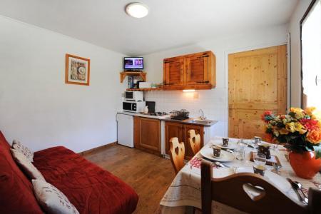 Vacances en montagne Appartement 2 pièces coin montagne 4 personnes - Chalet le Génépi - Les Menuires - Séjour