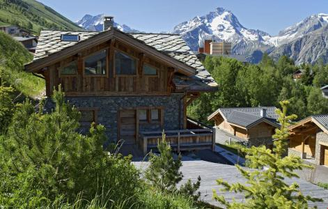 Rent in ski resort Chalet le Lys - Les 2 Alpes - Summer outside