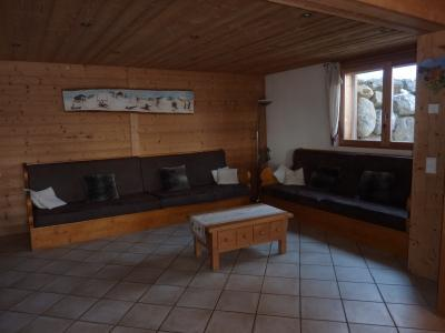 Holiday in mountain resort 7 room duplex chalet 14 people - Chalet le Marjency - Le Grand Bornand - Bench seat
