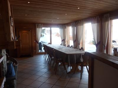Holiday in mountain resort 7 room duplex chalet 14 people - Chalet le Marjency - Le Grand Bornand - Dining area