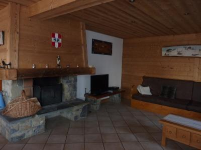 Holiday in mountain resort 7 room duplex chalet 14 people - Chalet le Marjency - Le Grand Bornand - Living room