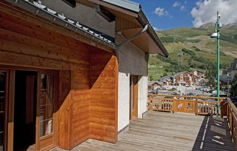 Rent in ski resort Chalet le Marmotton - Les 2 Alpes - Summer outside