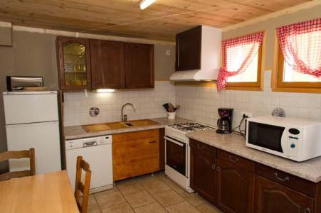 Vacances en montagne Appartement 3 pièces 6 personnes - Chalet le Marmouset - Châtel - Kitchenette
