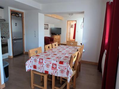 Wakacje w górach Apartament 4 pokojowy 8 osób - Chalet le Mont Emy - Albiez Montrond - Jadalnia