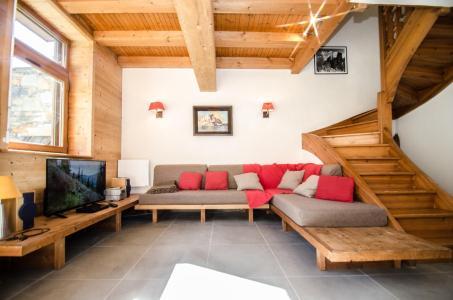 Vacances en montagne Chalet 4 pièces 6 personnes - Chalet le Panorama - Chamonix - Séjour