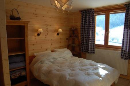 Holiday in mountain resort 2 room apartment 4 people - Chalet le Sabaudia - Le Grand Bornand - Double bed