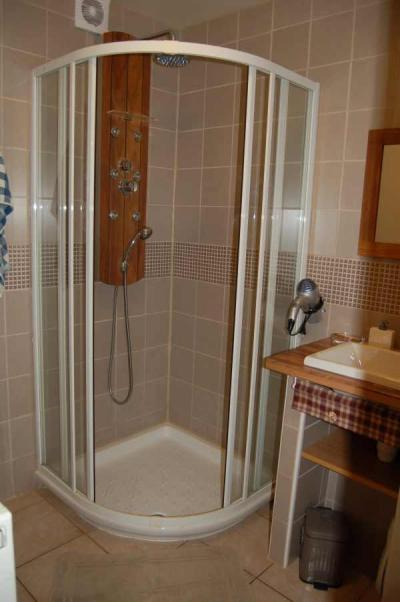 Holiday in mountain resort 2 room apartment 4 people - Chalet le Sabaudia - Le Grand Bornand - Shower