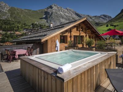 Summer accommodation Chalet le Solaret