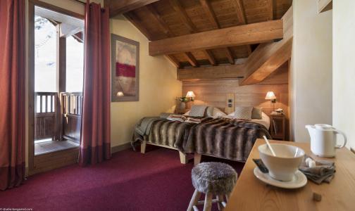 Vacances en montagne Chalet les Airelles - Tignes - Chambre