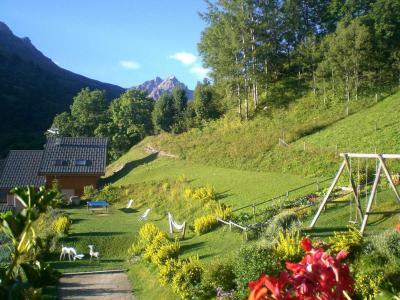 Location au ski Studio cabine 4 personnes - Chalet Les Ancolies - Valloire - Extérieur été