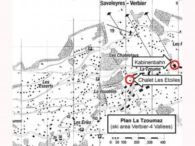 Vacances en montagne Chalet les Etoiles - La Tzoumaz - Plan