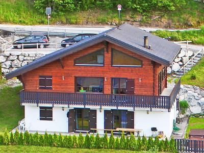 Location au ski Chalet les Etoiles - La Tzoumaz - Extérieur été
