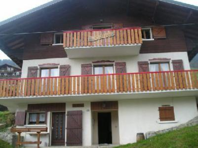 Location au ski Studio 3 personnes (003) - Chalet les Pensées - Châtel - Extérieur été