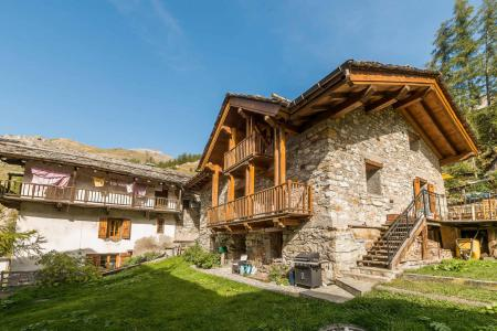 Rent in ski resort Chalet les Racines - Tignes - Summer outside