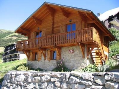 Location Alpe d'Huez : Chalet les Sapins été