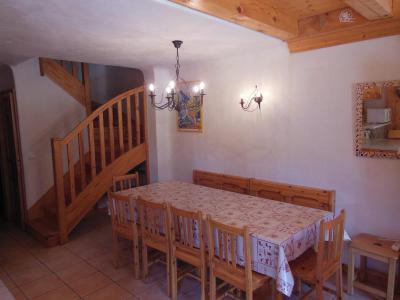 Vacances en montagne Appartement 6 pièces 10 personnes (CH) - Chalet les Soldanelles - Champagny-en-Vanoise - Table