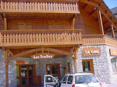 Location au ski Chalet Les Trolles - Val Thorens - Extérieur été