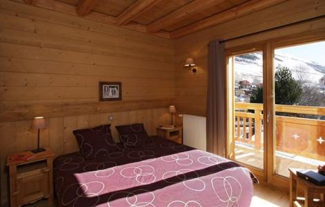 Holiday in mountain resort Chalet Levanna Occidentale - Les 2 Alpes - Bedroom