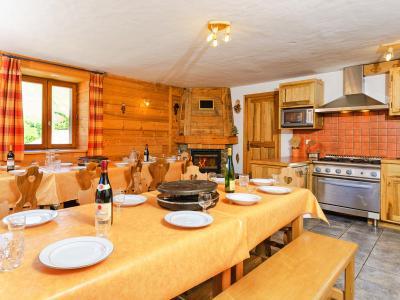 Vacances en montagne Chalet Levassaix - Les Menuires - Salle à manger