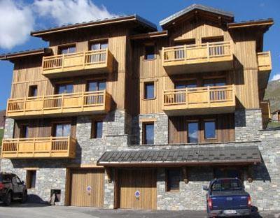 Location au ski Chalet Lili - Les Menuires - Extérieur été