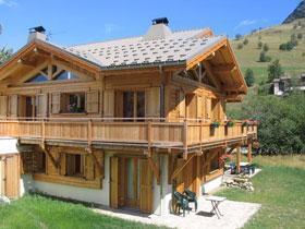 Location au ski Chalet Lou Crouet - Les 2 Alpes - Extérieur été