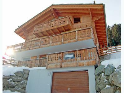 Location au ski Chalet 6 pièces 12 personnes - Chalet Marguerite - Thyon - Extérieur été