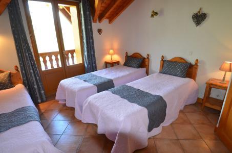 Holiday in mountain resort 5 room cabin triplex apartment 8 people - Chalet Marie Gros - Saint Martin de Belleville - Summer outside
