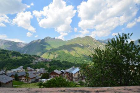 Holiday in mountain resort 5 room cabin triplex apartment 8 people - Chalet Marie Gros - Saint Martin de Belleville - Bedroom