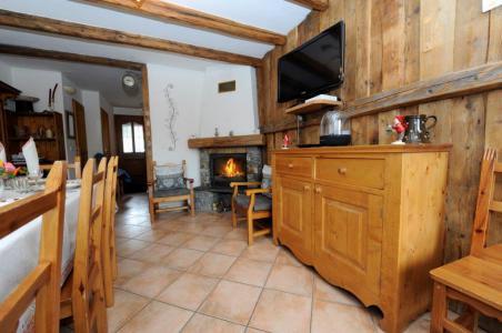 Holiday in mountain resort 5 room cabin triplex apartment 8 people - Chalet Marie Gros - Saint Martin de Belleville - Fireplace