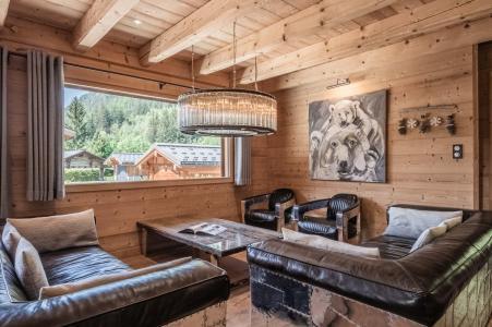 Rent in ski resort 6 room duplex chalet 10 people (Marius) - Chalet Marius - Chamonix - Summer outside