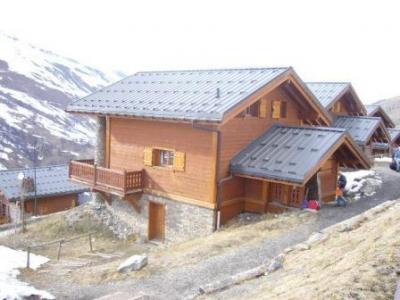 Location au ski Chalet Marmottes - Les Menuires - Extérieur été