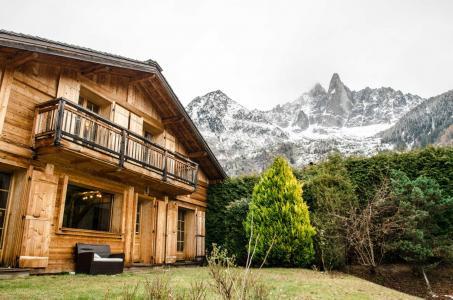 Location Chamonix : Chalet Mélèze hiver