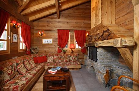 Vacances en montagne Chalet Mélusine - Alpe d'Huez - Coin séjour