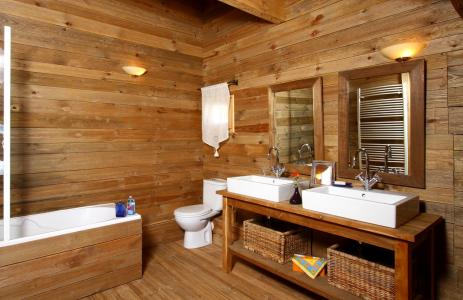 Vacances en montagne Chalet Mélusine - Alpe d'Huez - Salle de bains