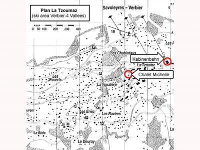 Vacances en montagne Chalet Michelle - La Tzoumaz - Plan