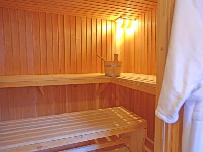 Vacances en montagne Chalet Michelle - La Tzoumaz - Sauna