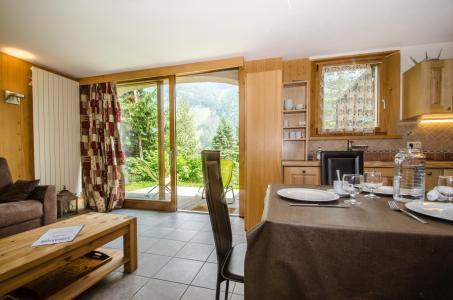 Vacances en montagne Appartement 2 pièces 4 personnes - Chalet Mona - Chamonix - Séjour