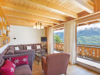 Vacances en montagne Chalet Mountain Star - Thyon - Banquette