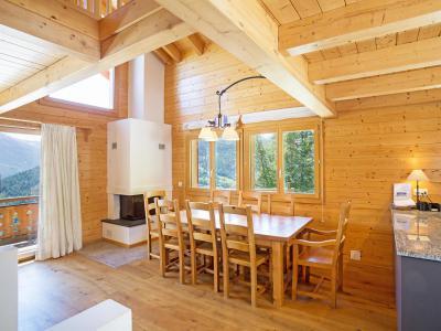 Vacances en montagne Chalet Mountain Star - Thyon - Salle à manger