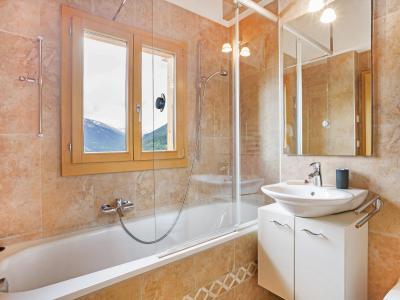 Vacances en montagne Chalet Mountain Star - Thyon - Salle de bains