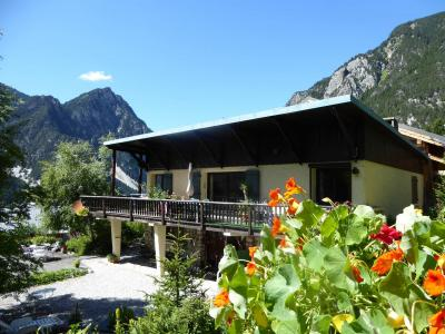 Rent in ski resort Chalet Namaste - Pralognan-la-Vanoise - Summer outside