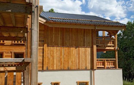 Rent in ski resort Chalet Nuance de Bleu - Alpe d'Huez - Summer outside