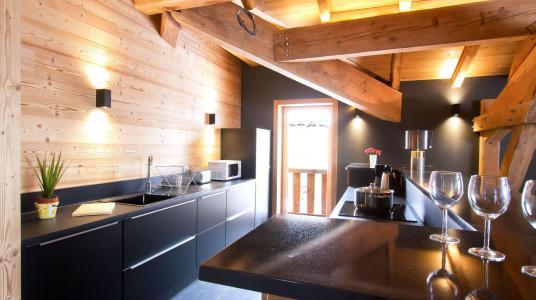 Vacances en montagne Chalet Nuance de Bleu - Alpe d'Huez - Cuisine