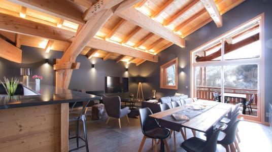 Vacances en montagne Chalet Nuance de Bleu - Alpe d'Huez - Salle à manger
