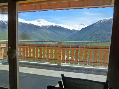 Holiday in mountain resort Chalet Ourson Blanc - Thyon - Summer outside